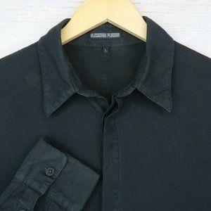 Alexandre Plohkov L Black Long Sleeve Shirt